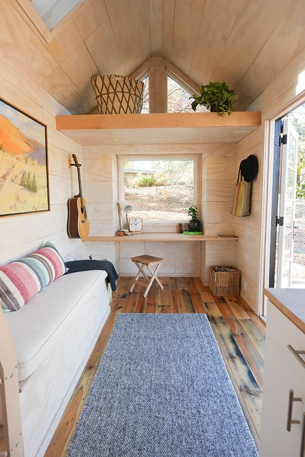 "Modern Tiny House Interior: A Tiny House, Named ""The Hiatus"", Made In Bend Oregon, By"