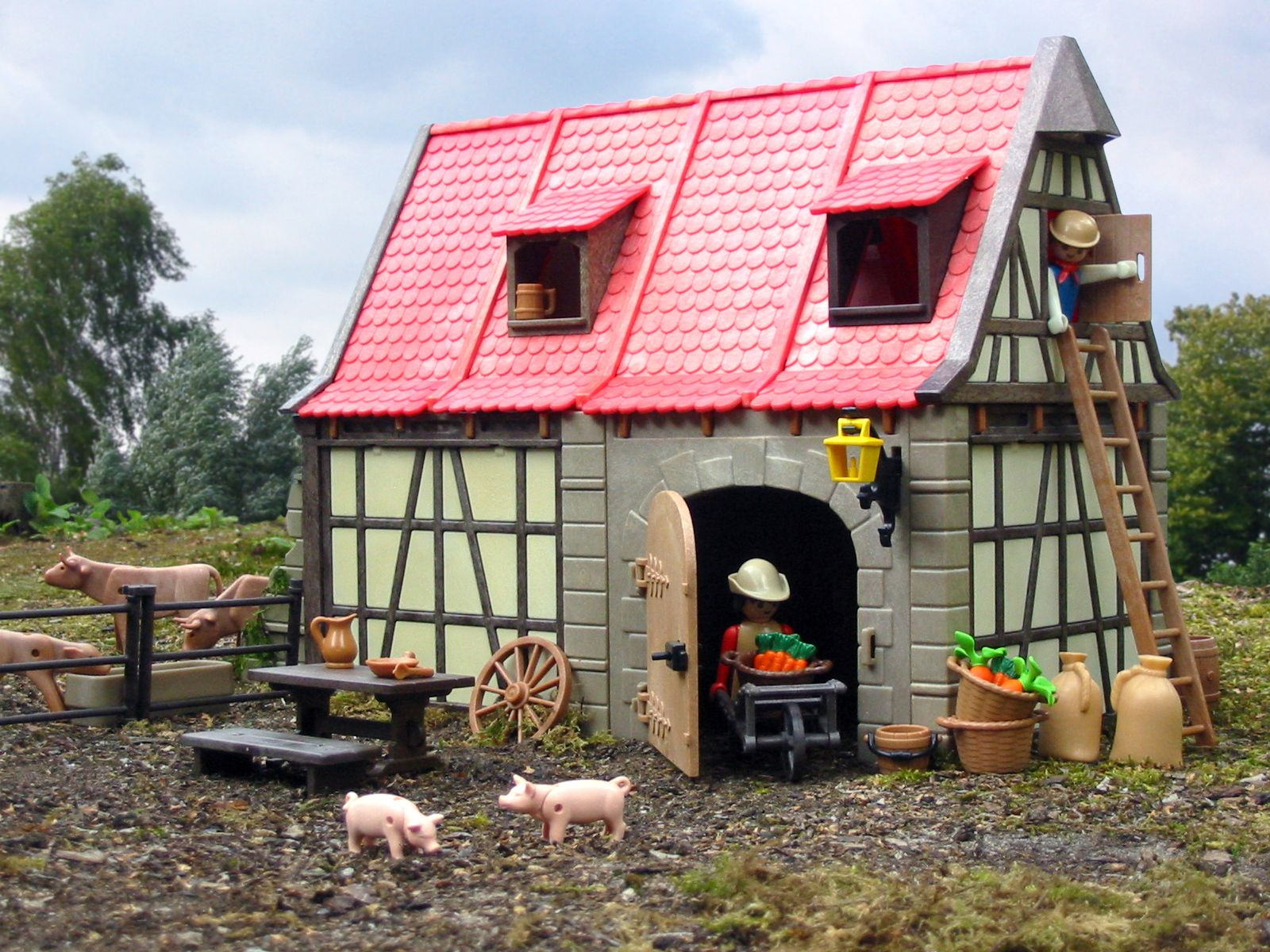 Playmobil farm house | ☆ Playmobil ➀ ☆ | Pinterest | Playmobil ... for Playmobil Farmhouse 173lyp