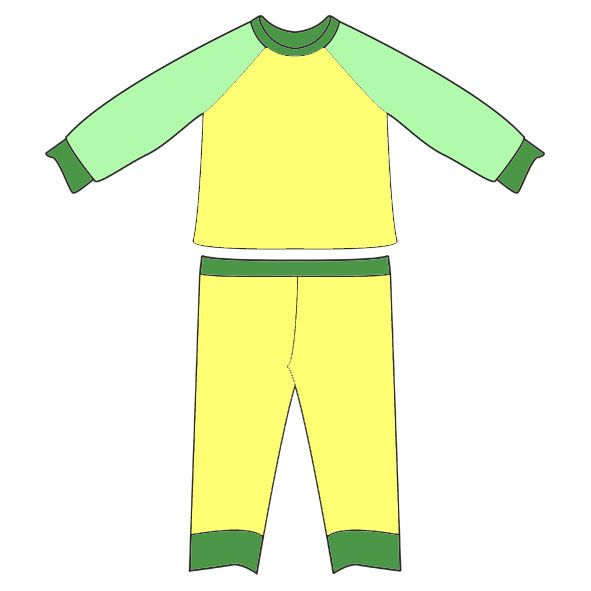 Рисунок пижама для детей