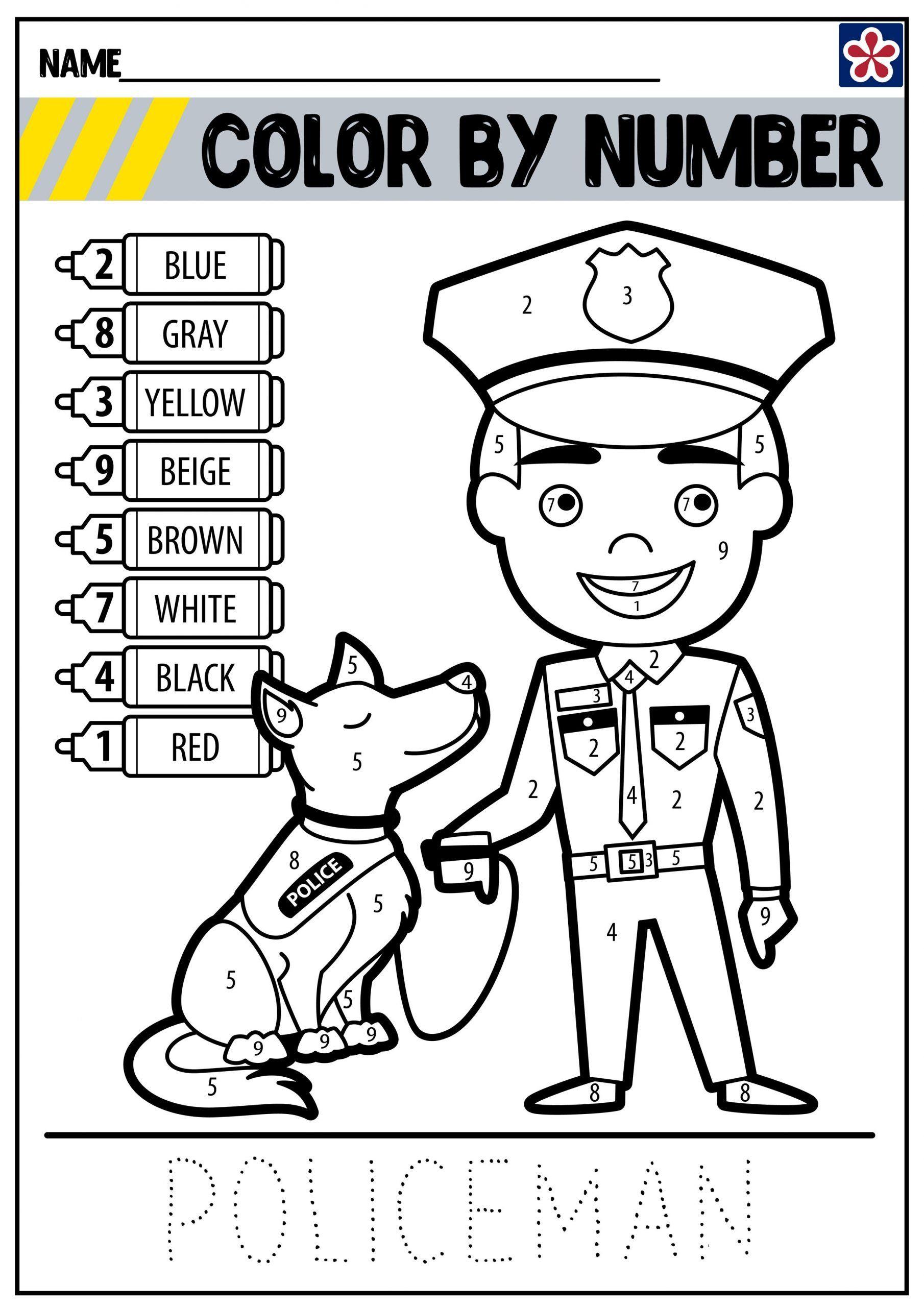 Community Helpers Worksheet For Preschool Munity Helpers