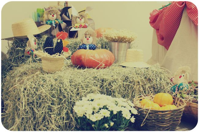 My projects - farm party decor