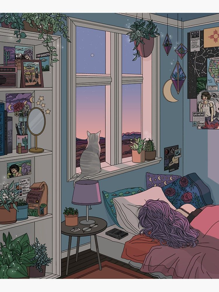 Morning In A House By Seventhtale Anime Classroom Anime Background House Anime