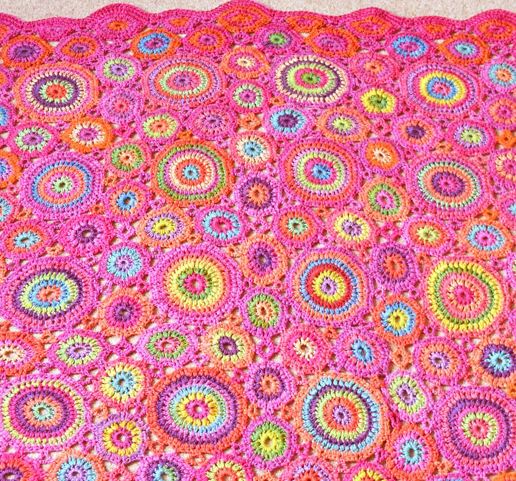 Ravelry: Kissing Circles & Kaffe Blankets pattern by Amanda Perkins ...
