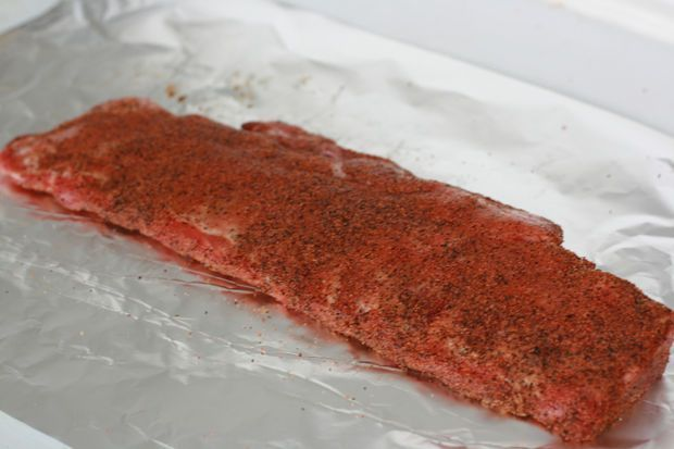 Quick & Easy Baby Back Ribs Recipe #ribsinoven Quick dry Rub for oven baked ribd #ribsinoven