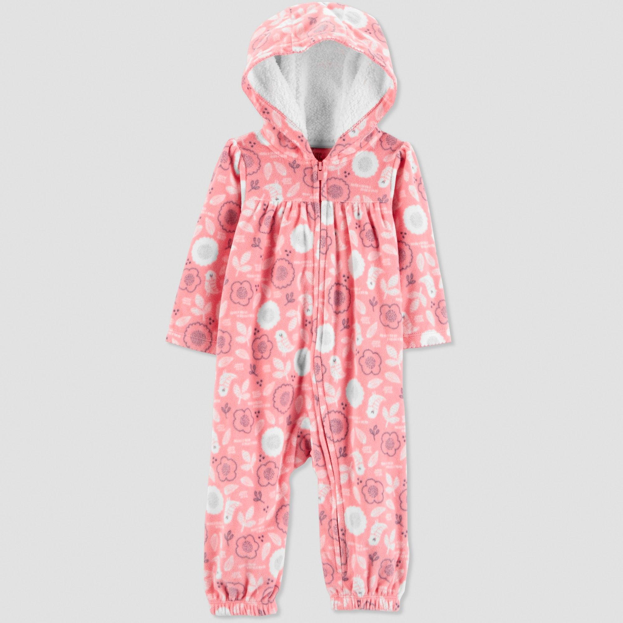 176ee9567 Baby Girls  Floral Jumpsuit - Just One You made by carter s Pink ...