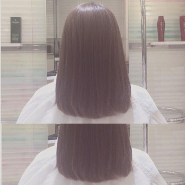 2016/10/31 00:00:56 m.k.m.k.3.5 営業後の練習🌪パーマかかってる同期のブローした🖖🏻前よりは良くなったと思うけどまだナミナミ〜〜ブロー難しすぎるけど次こそ受からないと💇👎🏻👎🏻 パーマとかブリーチしてなくてあまりクセがない肩下くらいの長さの女の子来月の20日試験モデルやってほしい〜〜🙏 #model #ブロー #パーマ #ストレート #hair #color #美容 #美容師 #アシスタント#assistant #カラー #ブローモデル募集中 #ブローモデル #試験 #美容室 #美容院 #salon #同期 #仕事 #夜練  #美容