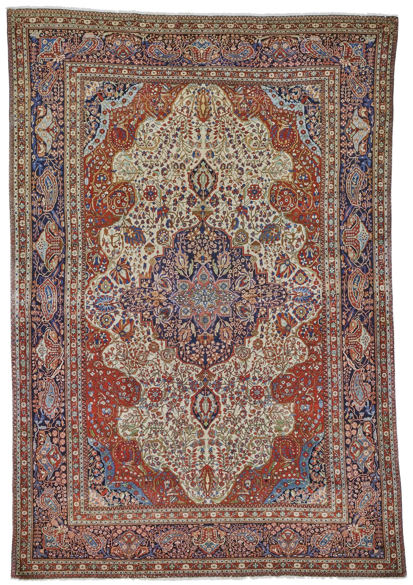 Kashan 'Mohtasham' carpet, Central Persia approximately
