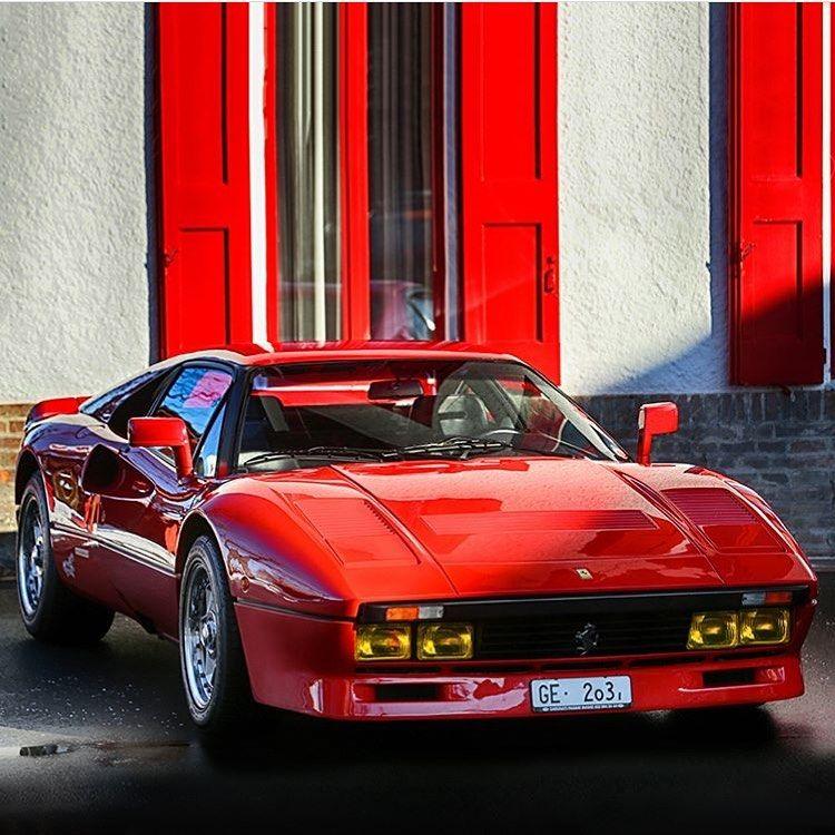Ferrari F8 Tributo Rear: Ferrari #288 #GTO #By: #ferrari #ferrari #ferrariclassic