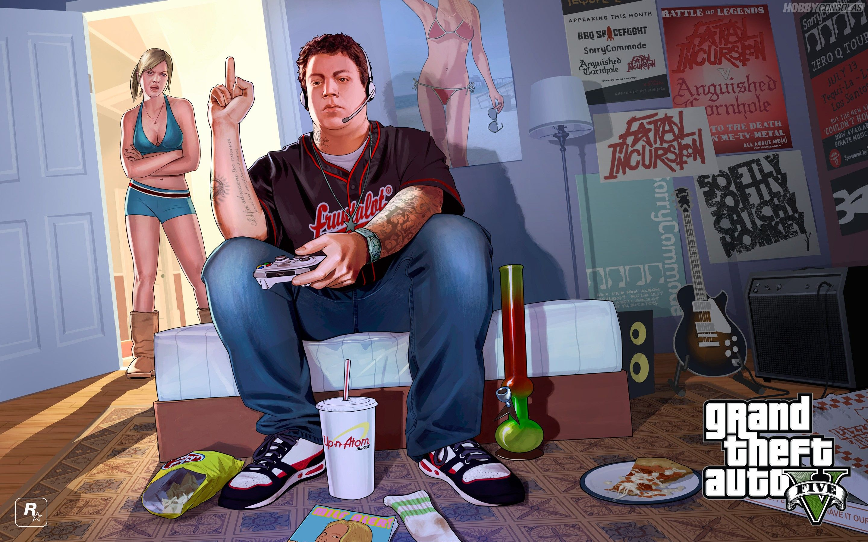 Gta 5 Rockstar Ilustracion Jimmy Jpg 2880 1800 Pixeles Grand Theft Auto Grand Theft Auto Artwork Gta