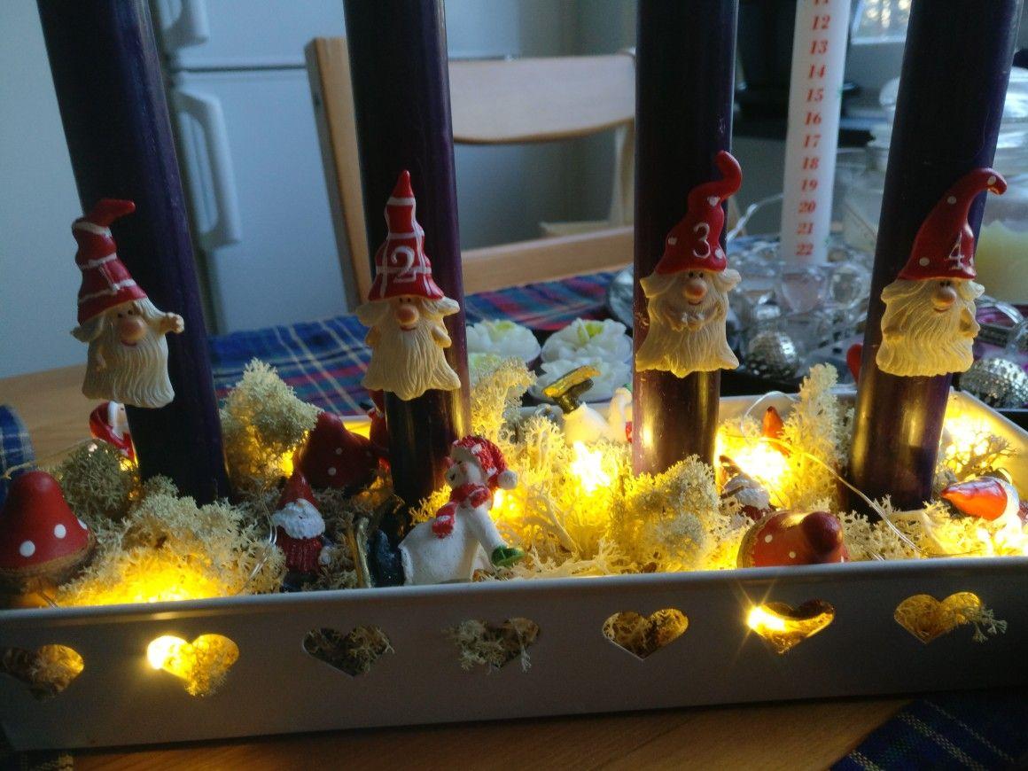 Adventsstaken er klar for årets jobb! #christmas #jul #advent