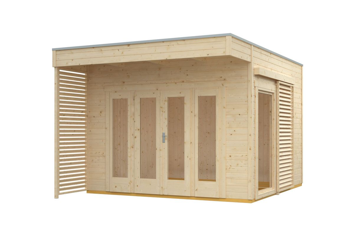 gartenhaus tokio 2-schalig | gartenhaus | pinterest