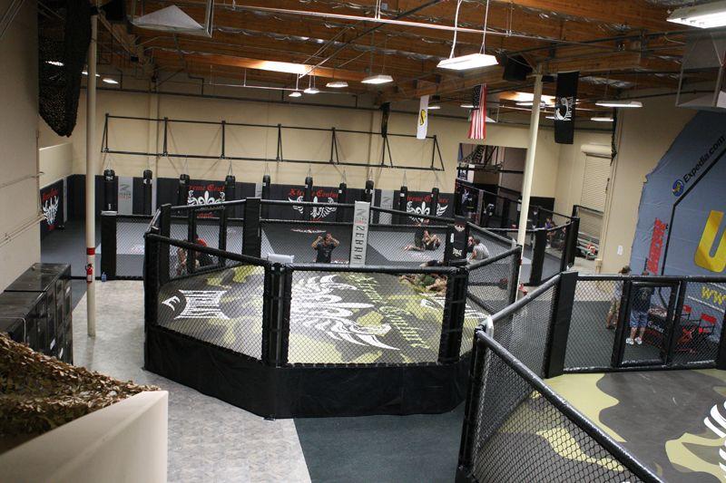 Xtreme Couture Mma Gym Las Vegas Gym Design Interior Gym Design Mma Gym