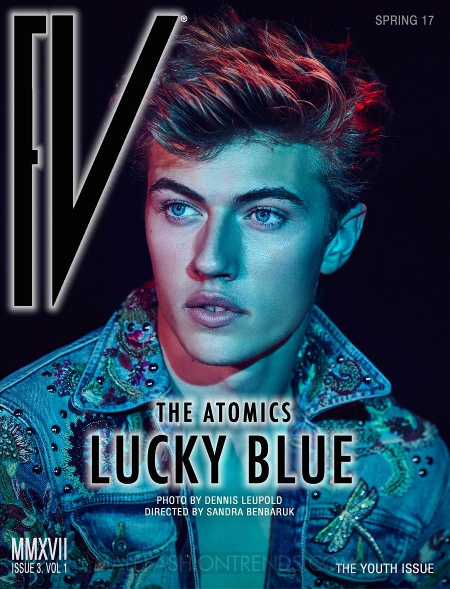 The Youth Issue: Lucky Blue Smith & The Atomics for FV