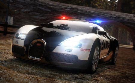 Nfs Bugatti Veyron Police Car Desktop Nexus Wallpapers Bugatti Veyron Bugatti Veyron Super Sport Bugatti Cars