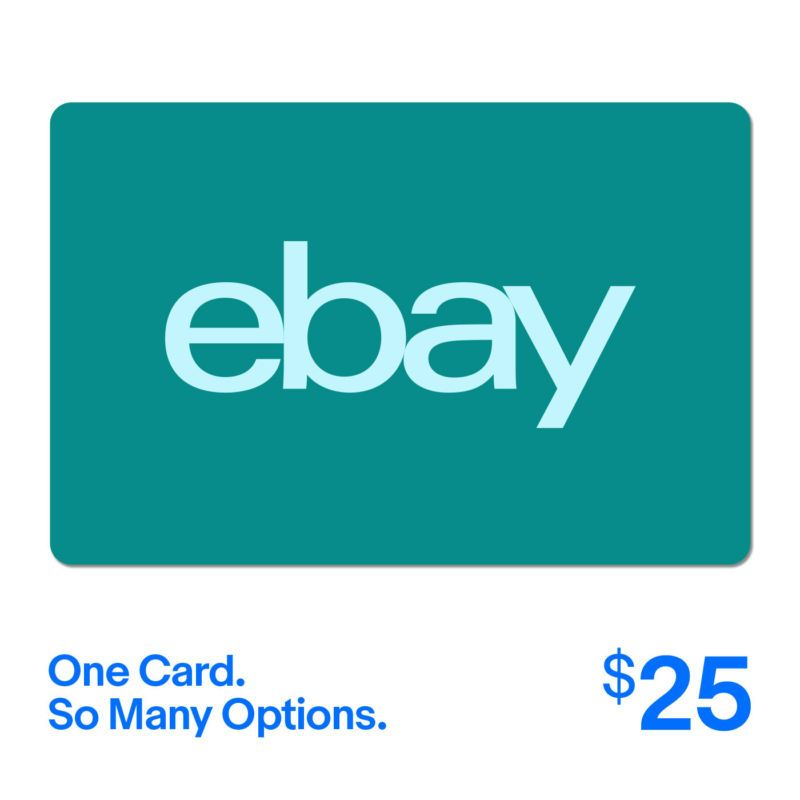25 ebay gift card one card so many options fast email
