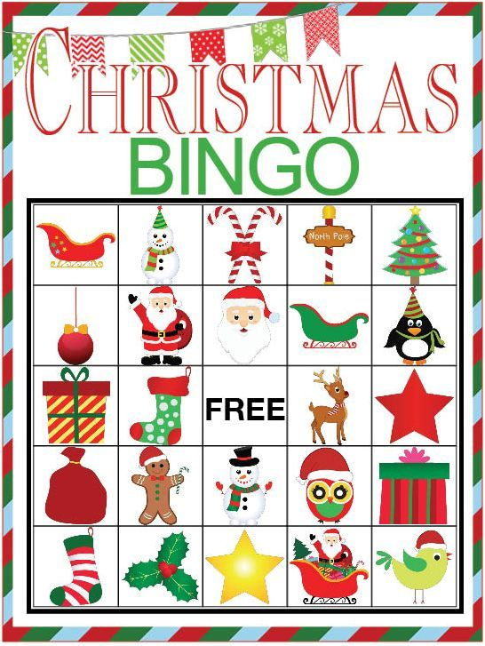 photograph regarding Holiday Bingo Printable known as Xmas BINGO printable video game Xmas Xmas bingo