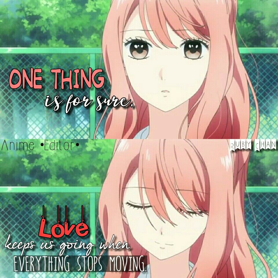 One Thing Is For Sure Anime 3d Kanojo Real Girl Anime Editor