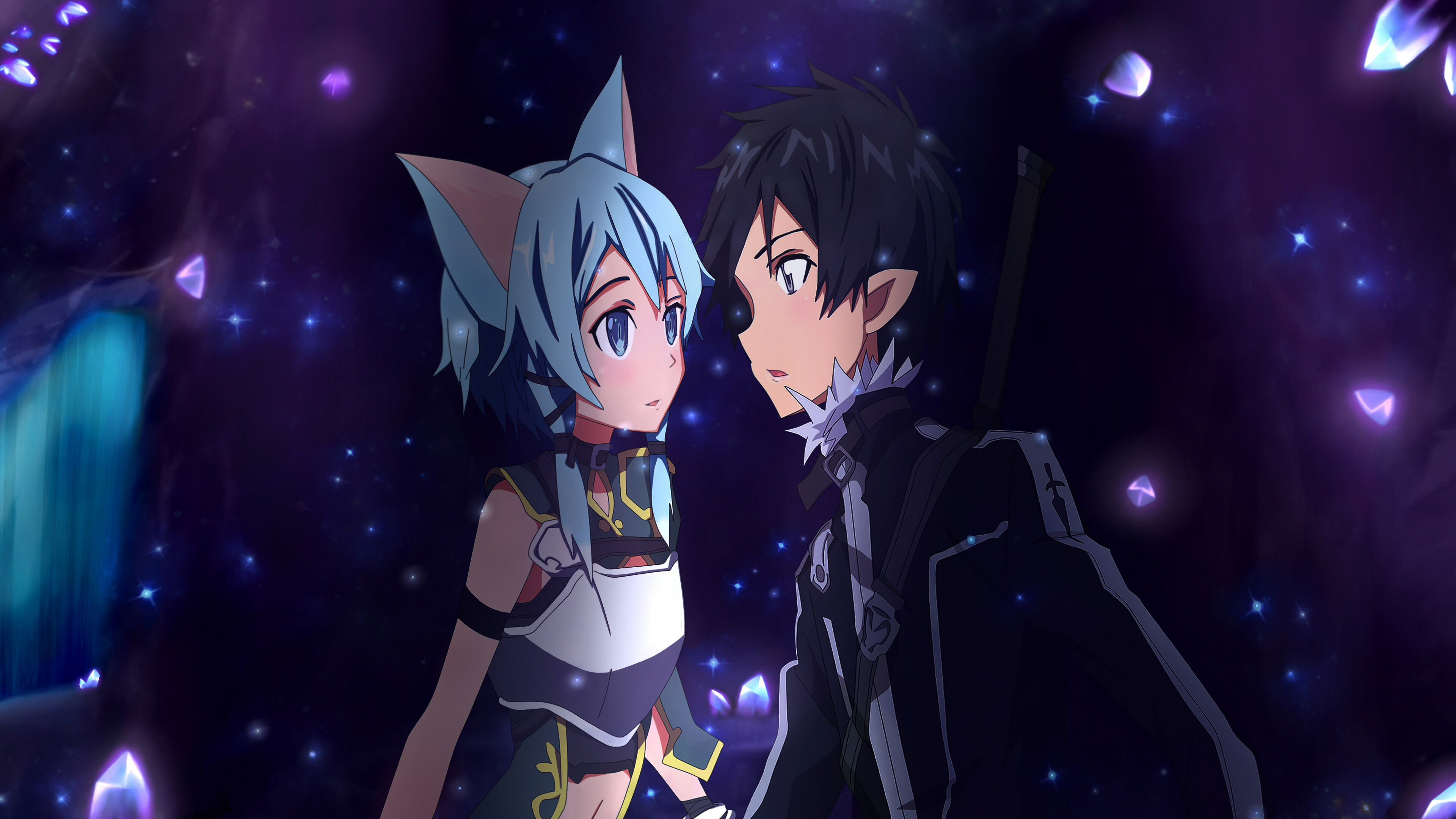 Pin On Kirito And Sinon