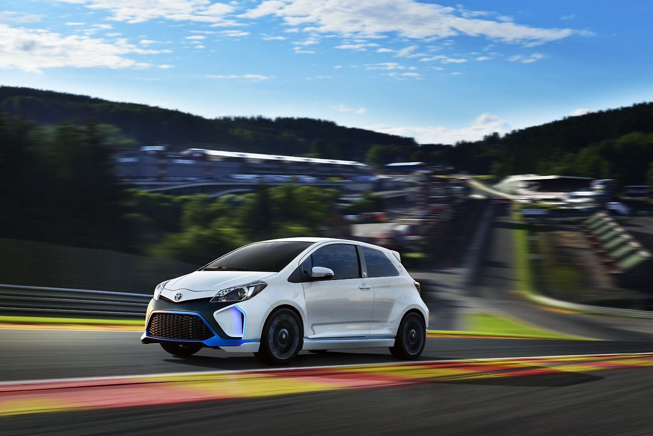 Most Amazing Cars Toyota Yaris Hybrid R All Wheel Drive And 420