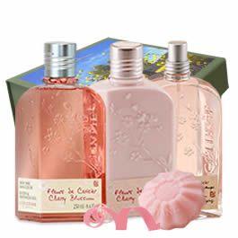 Cherry Blossom L Occitane En Provence Canada Cherry Blossom Fragrance L Occitane Peaches Cream