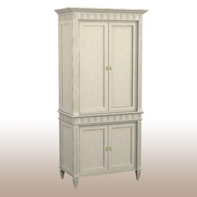 Delicieux 5348 11 Drake Cabinet And Deck   Center Section   Hickory Chair Armoire **