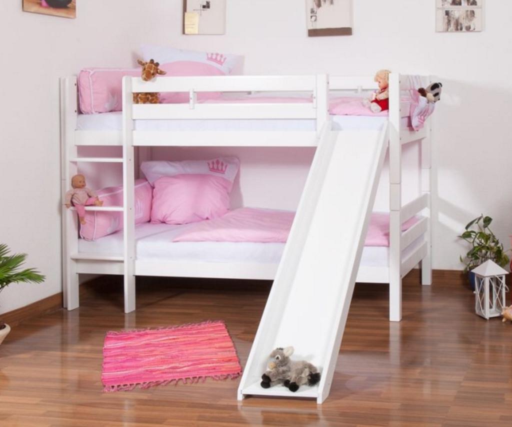 Loft bed with slide weight limit  Bunk Bed with Slide  Kids room  Pinterest  Bunk bed Kids