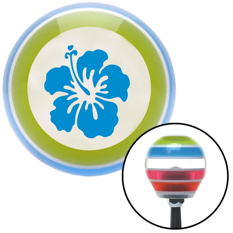Blue hawaiian flower 9 stripe shift knob with m16 x 15 insert blue blue hawaiian flower 9 stripe shift knob with m16 x 15 insert izmirmasajfo Images