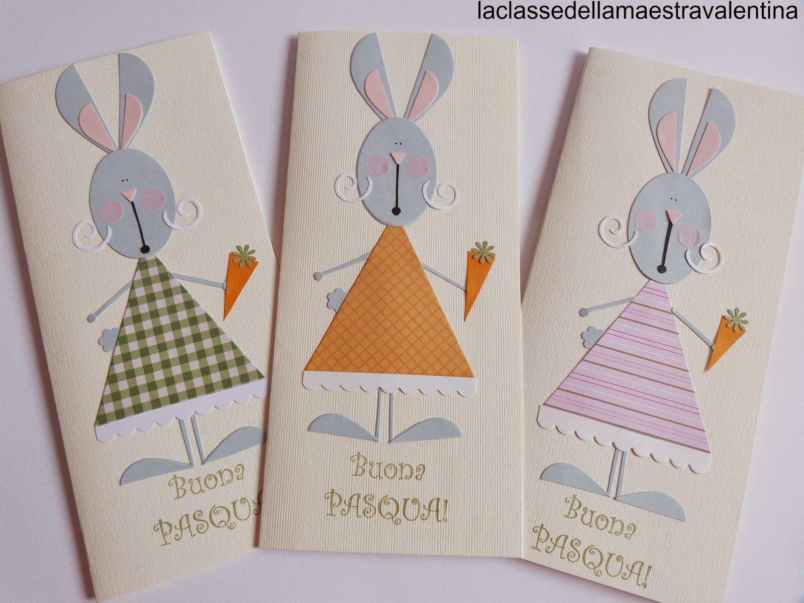 La classe della maestra valentina conigliette eleganti for Maestra sandra pasqua