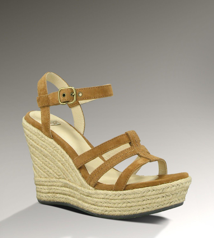 UGG Callia wedge sandals.like