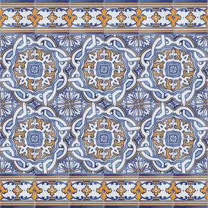 Portuguese Ceramic Tile Tiles From Portugal Traditional Decorative Hand Painted Ceramic Portuguese Tiles Traditional Tile Art Nouveau Tiles
