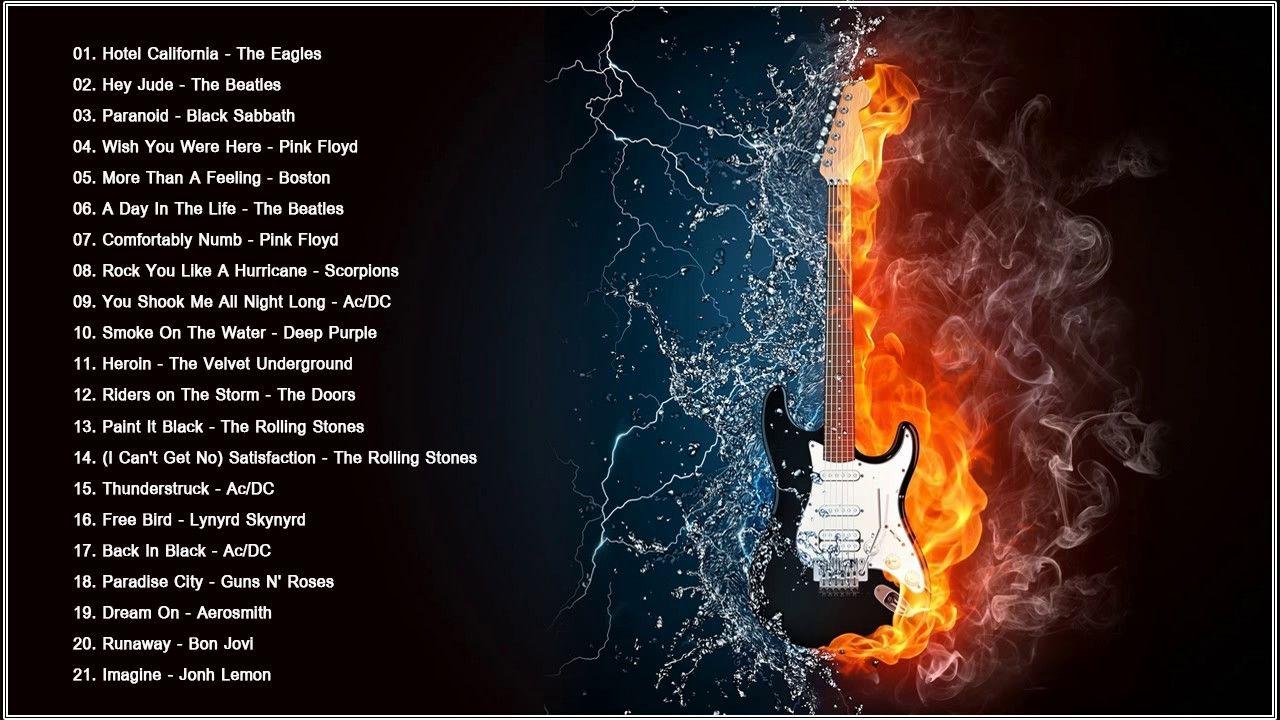 Long rock playlist