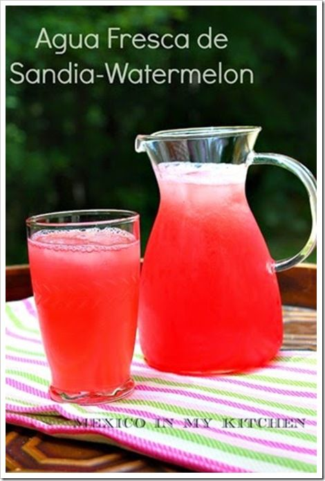 10 Ways to cool off this summer | Aguas Frescas Recipes | Mexican Drinks