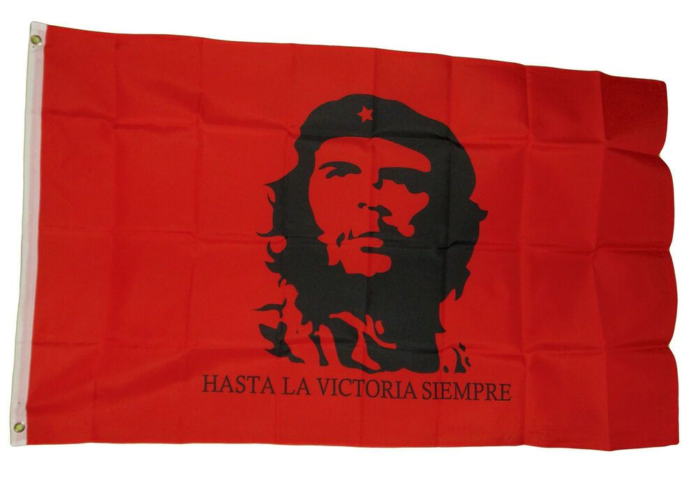 Che Guevara Cuba National Flag 3 X 5 3x5 Feet New Polyester Red Ebay In 2020 National Flag Flag Che Guevara