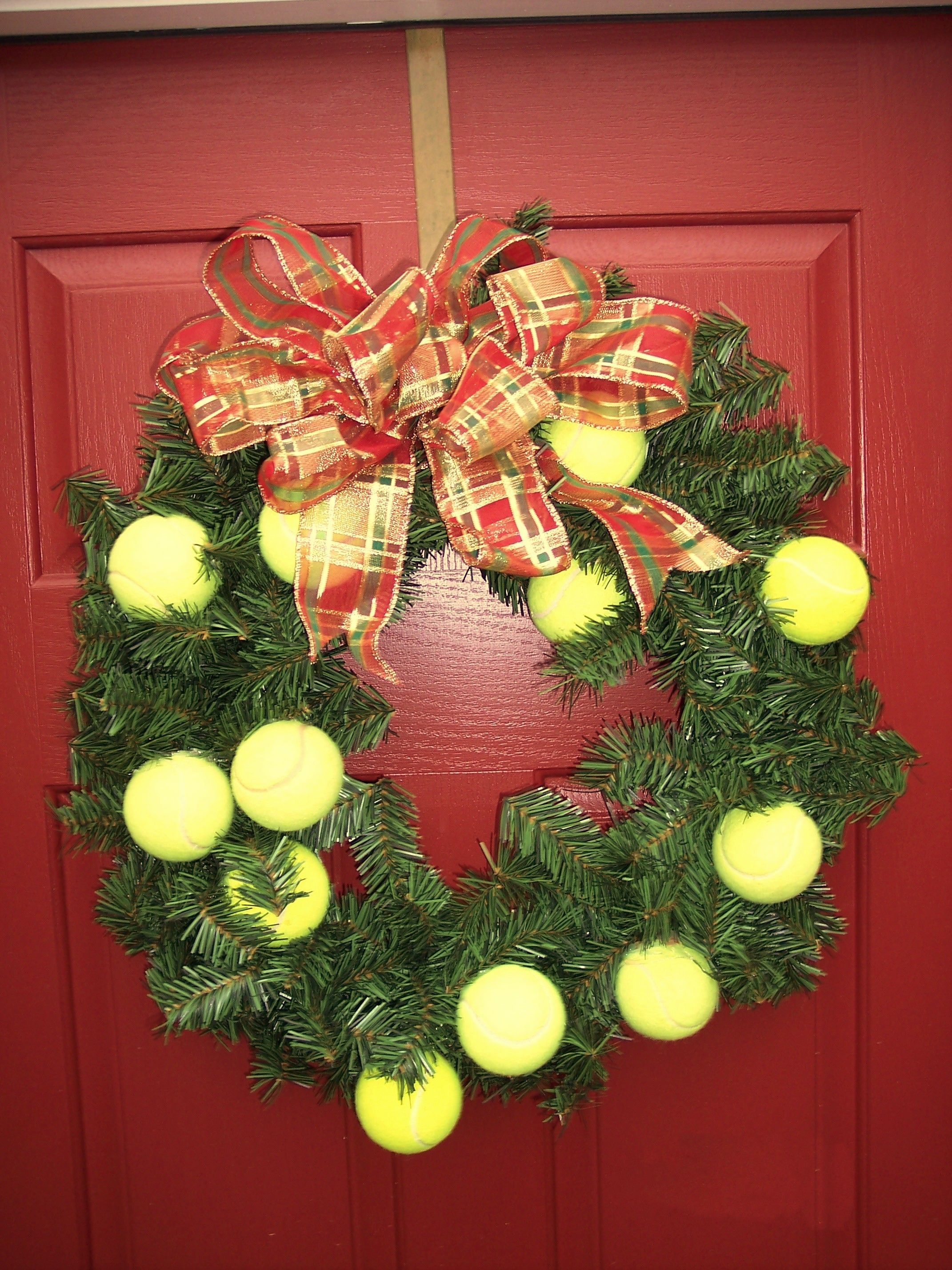 Tennis christmas ornaments - A Tennis Christmas Great