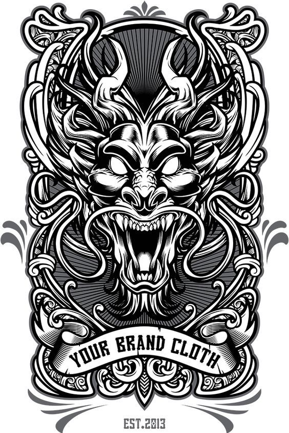 Graphic Design Services Hire A Graphic Designer Today Fiverr Desain Vektor Seni Tradisional Tato Naga