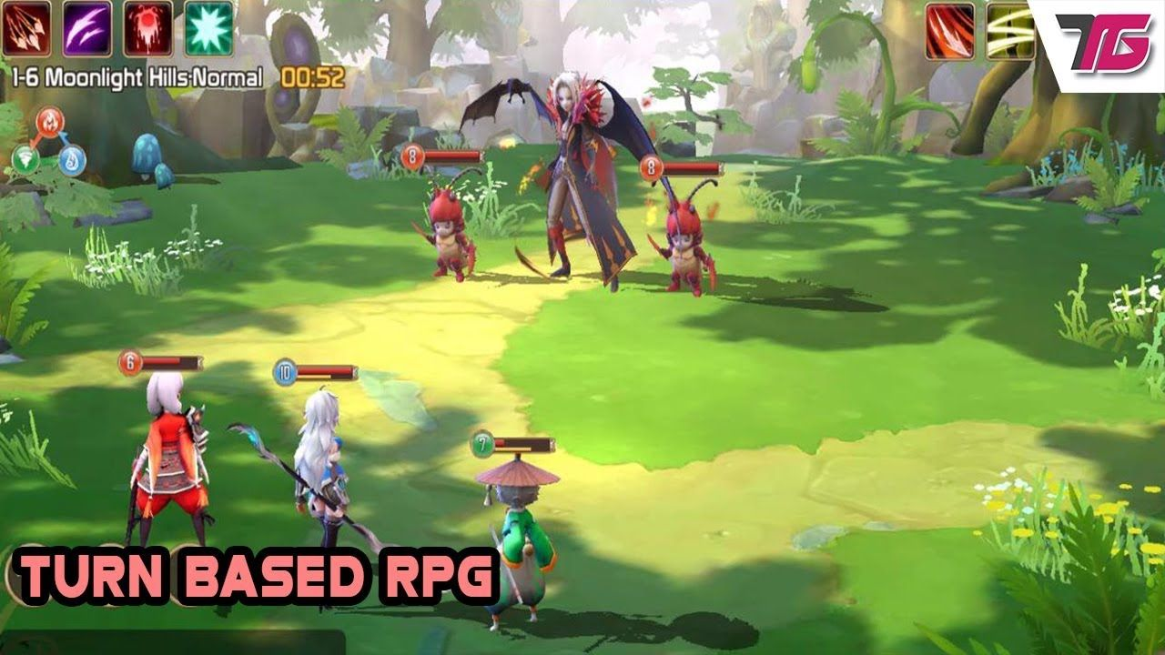 Top 15 Turn Based Rpg Games Android Ios 2019 Online In 2020 Rpg Games Android Games Rpg
