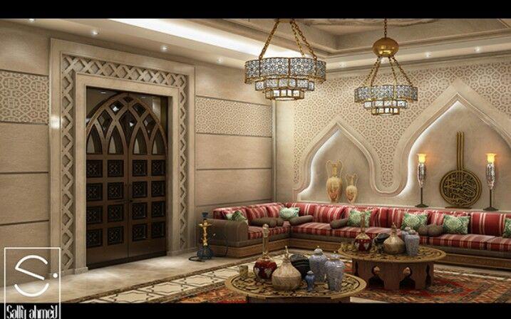 marokkolaistunnelmaa   Moroccan decor living room ...