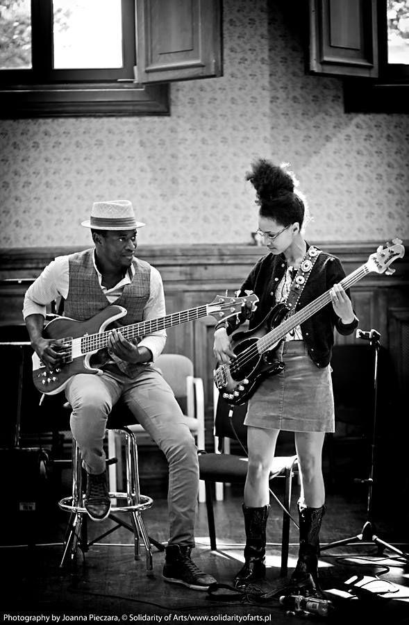 Alune Wade & Esperanza Spalding