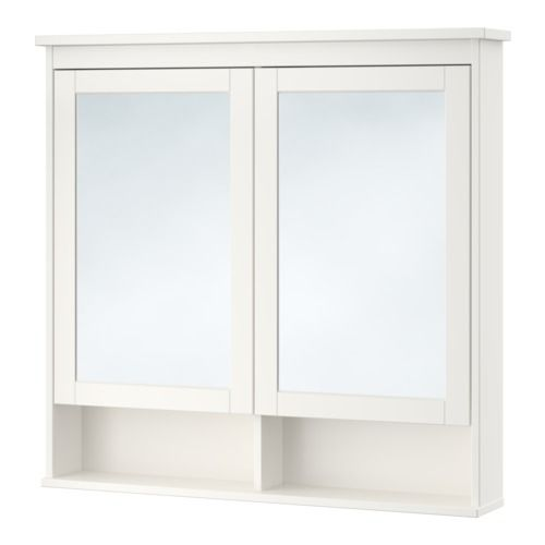 HEMNES Peilikaappi 2 ovea - 103x16x98 cm 3a712fddfc