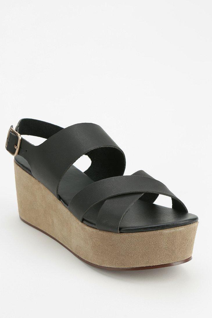 Cooperative Crisscross Platform Sandal #urbanoutfitters ...