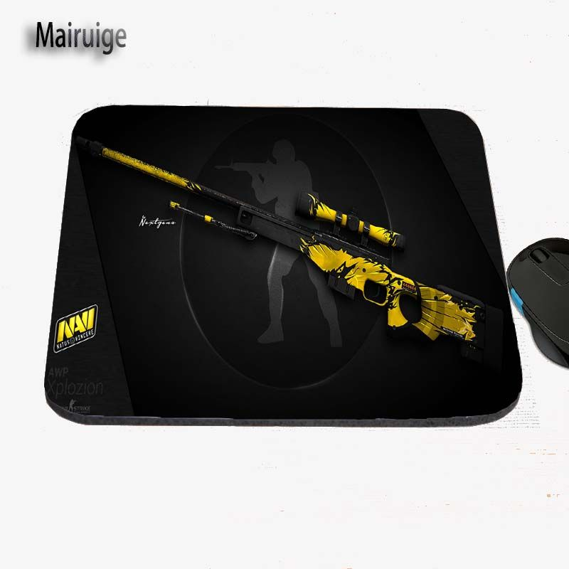 Diy Csgo Game Guns To Print Custom Antiskid Computer Desk Rubber Mouse Pad Eat Mat Can Be Used As A Gift Diy Computer Desk Computer Desk Computer