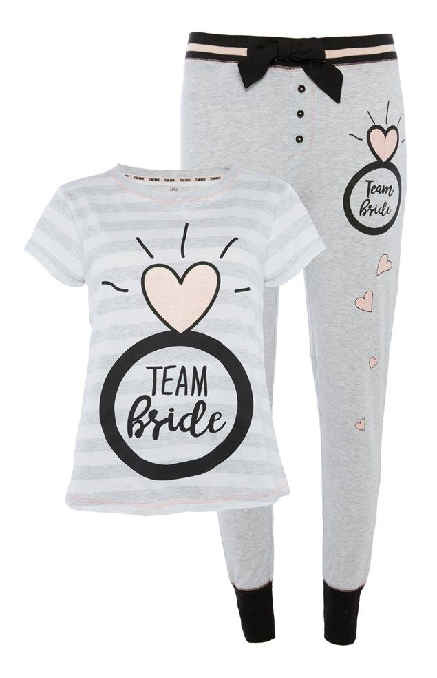 4aa2fedb70e3 Primark has Launched a Bridal Pyjama Collection and you're going to Love it  in 2018 | Bridesmaid Gift ideas | Pinterest | Wedding, Team bride and Bride