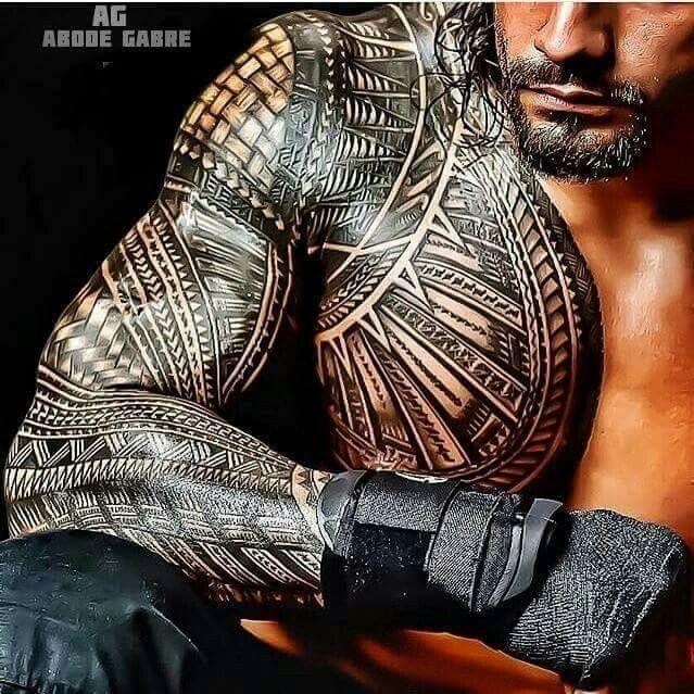 59e7a754c Roman Reigns | Roman | Tattoos, Samoan tattoo, Filipino tattoos