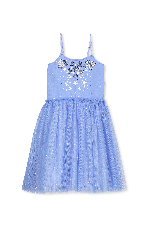 Disney inspired tulle dress vista bluesnowflakes