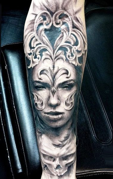 40ff67f84 Face tattoo by Jak Connolly | Black and Gray Tattoos | Tattoos, Face ...
