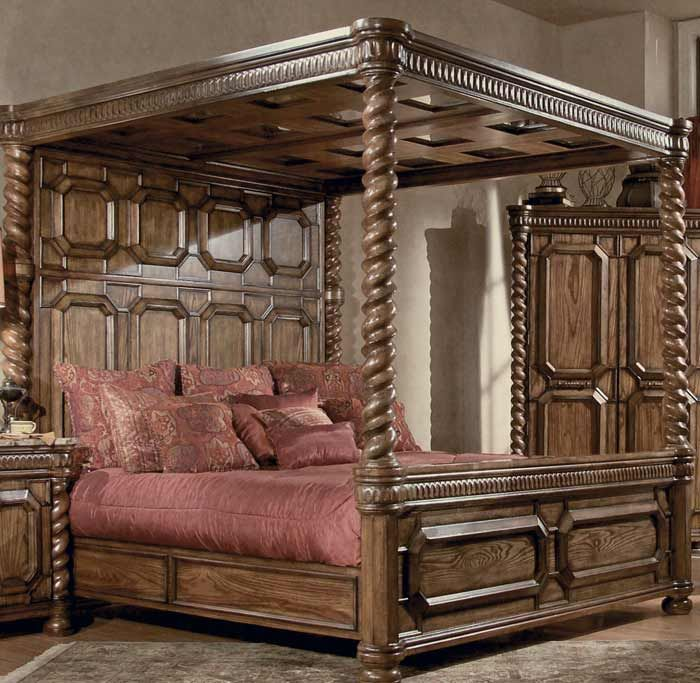 California King Canopy Bed I want! : california king canopy bed set - memphite.com