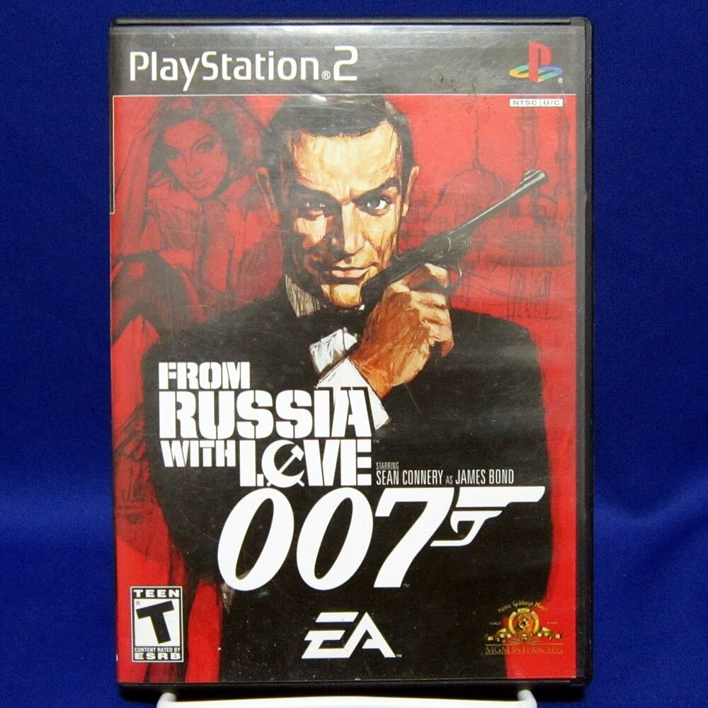 Ps2 From Russia With Love 007 Complete Tested 2005 Ea James