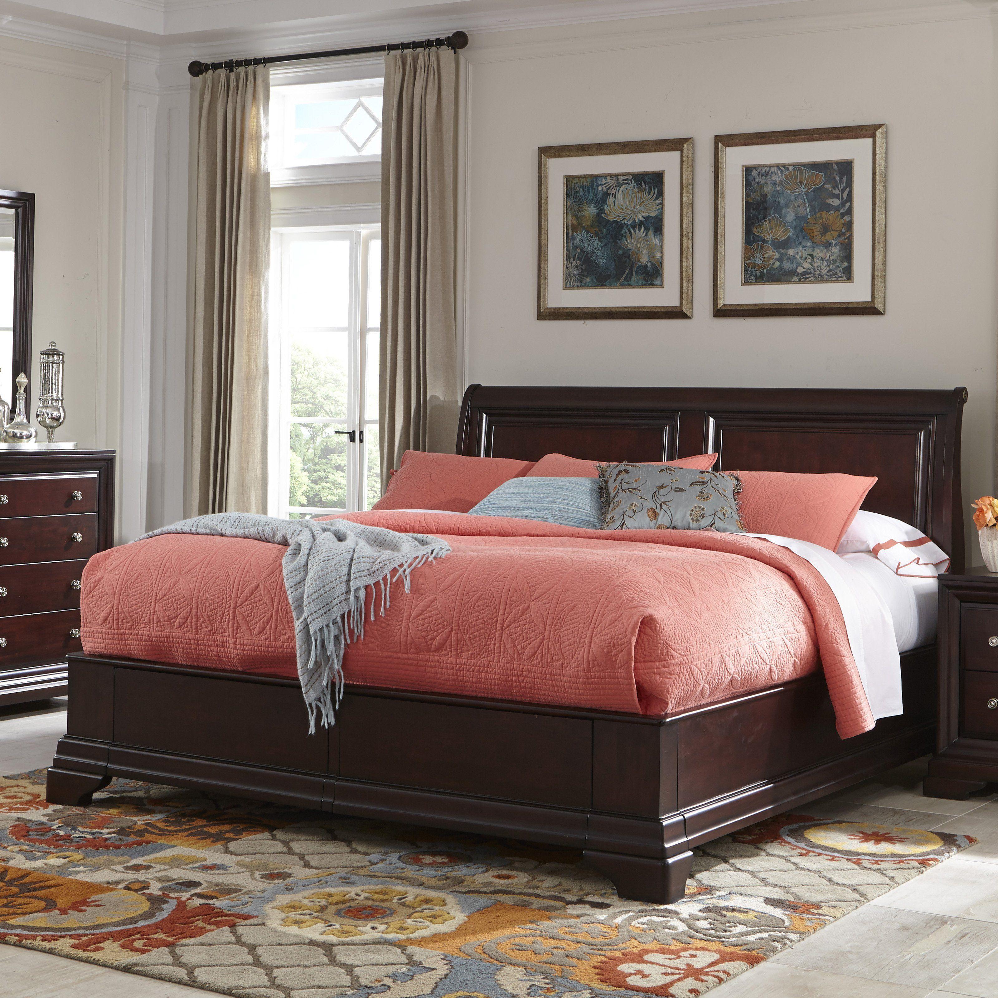 Cresent Fine Furniture Newport Storage Sleigh Bed CREN