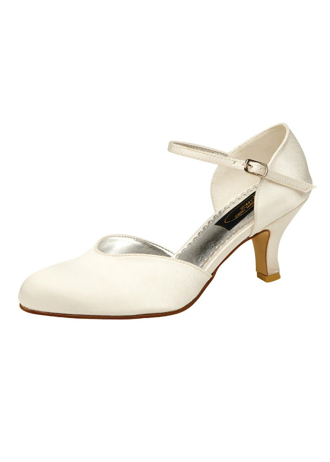 Chaussures mariée Juno ivoire   Chaussures mariage ac0bb8cd292