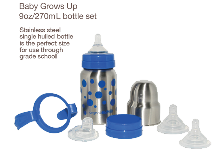 baby grows up thermal bottle kit